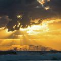 Sunrise Surf Spray Delray Beach Florida by Lawrence S Richardson Jr