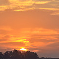 Sunrise Through Clouds 2451 by Dick Hopkins