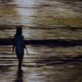 Sunrise Walk In The Sea by Fran Rittenhouse-McLean