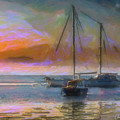 Sunrise With Boats by Chris Armytage