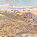 Sunset , John Singer Sargent by John Singer Sargent