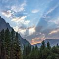 Sunset 1 Yosemite  by Jeffrey Hubbard