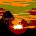 Sunset 6 by Tim Allen
