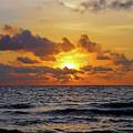 Sunset by A H Kuusela