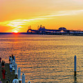 Sunset Across The Chesapeake by Brian Wallace