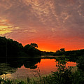 Sunset After The Storm by Ulrich Burkhalter