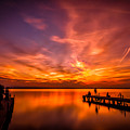 Sunset Albufera by Javier Martinez Moran