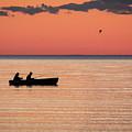 Sunset Anglers by Jeffrey Ewig