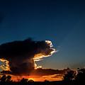 Sunset Anvil by Jennifer Sensiba