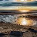 Sunset At Brewster Flats by Robert Anastasi