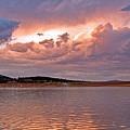 Sunset At Carter Lake Colorado by James Steele