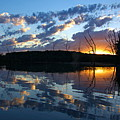 Sunset At Chester Lake by Larry Ricker
