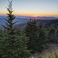 Sunset At Clingmans Dome by Patrick Shupert