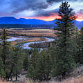 Sunset At Columbia Wetlands by Adam Jewell