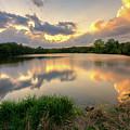Sunset At Community Lake #8 by Mark McDaniel