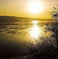 Sunset At Cook Inlet - Alaska by Juergen Weiss