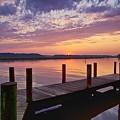 Sunset At Denbigh Park II by Amy Jackson