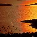 Sunset At Great Cruz On St. John by Bill Jonscher