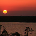 Sunset At Gulfshores by James Jones