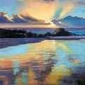 Sunset At Havika Beach by Janet King