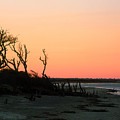 Sunset At James Island by John Harmon