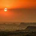 Sunset At Jodhpur by Yew Kwang