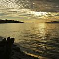 Sunset At Kitsilano by Tom Buchanan