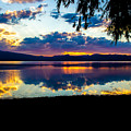 Agency Lake Sunset, Oregon by Tirza Roring