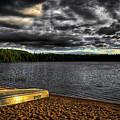 Sunset At Nicks Lake by David Patterson