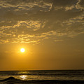 Sunset At Pacasmayo Beach 2 by Mario Colan