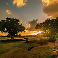 Sunset At Paia by Francisco Gomez