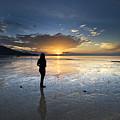 Sunset At Phuket Island by Ng Hock How