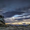 Sunset At Poolburn Reservoir 1 by Robert Green