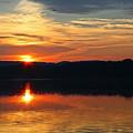 Sunset At Princess Point by Barbara McMahon