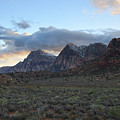 Sunset At Red Rock Canyon by Matt Fornear