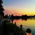 Sunset At Ringling Mansion 3 by Susan Molnar