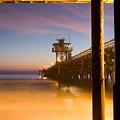 Sunset At San Clemente by Cliff Wassmann