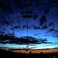 Sunset At Smugglers' Notch, Vermont - Portrait by James Aiken