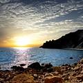 Sunset At The Black Sea Coast. Crimea by Yuri Hope