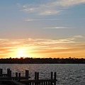 Sunset At The Causeway by Vicki Lewis