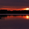 Sunset At The Marina by Clayton Bruster