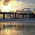 Sunset At The Pier by Gregory Payne
