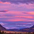Sunset At The Ranch - Patagonia by Stuart Litoff