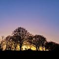 Sunset At Turlough by Michael Kinsella