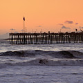Sunset At Ventura Pier by Michael Gordon
