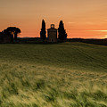 Sunset At Vitaleta by Michael Blanchette