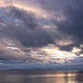 Sunset At White Rock by Barbara  White
