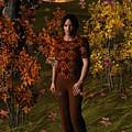 Sunset Autumn Walk by Judi Suni Hall