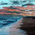 Sunset Beach by DSC Arts