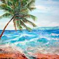 Sunset Beach Hawaii by Cheryl Ehlers